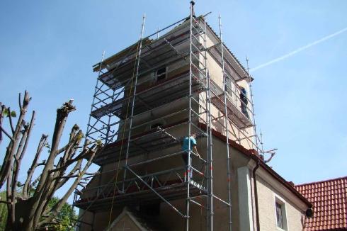 Rusztowanie wieży