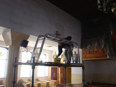 Malowanie Kościoła_1