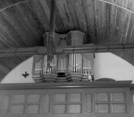 Prospekt jak w starym kościele