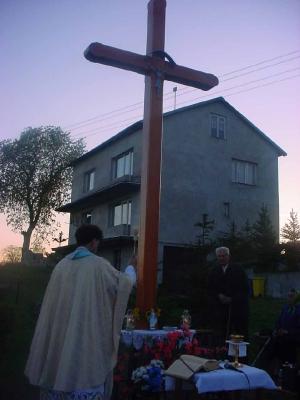Poświęcenie krzyża 2007